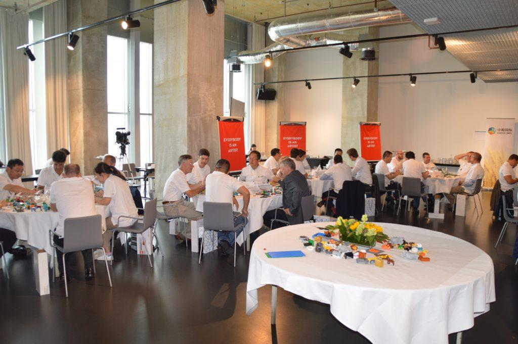 corporate workshop: exploring  cultural values, Rooterdam, 65 participants